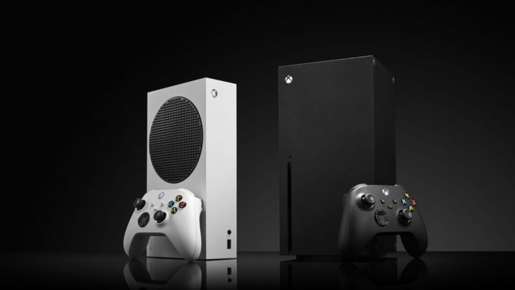 A pair of Microsoft home video game consoles, including an Xbox Series S (L) and Xbox Series X, taken on October 27, 2020.