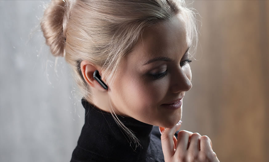 LG Tone Free Wireless Earbuds- Sleek and Minimal Design Refreshingly in Style